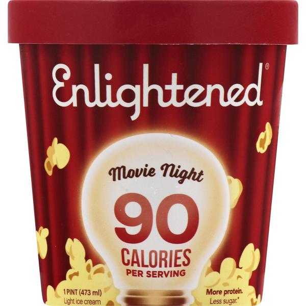 Enlightened Ice Cream, Movie Night, Light