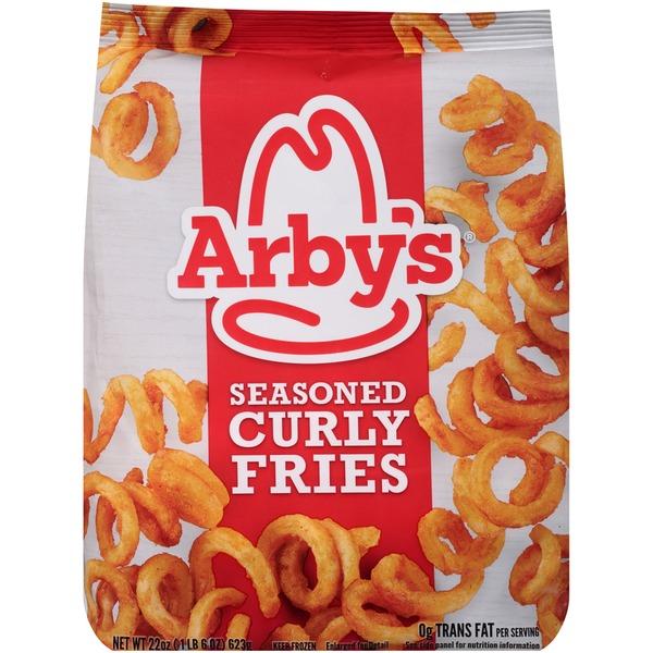 Arbys Seasoned Curly Fries