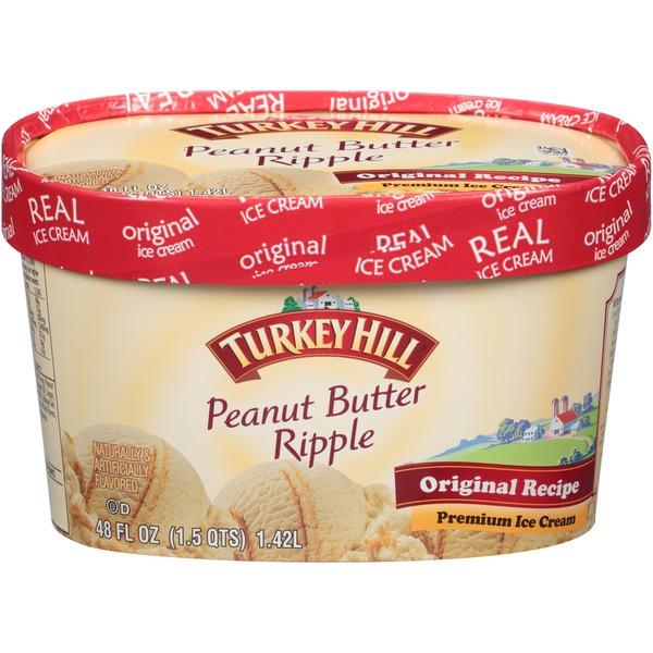 Turkey Hill Peanut Butter Ripple Ice Cream From Price