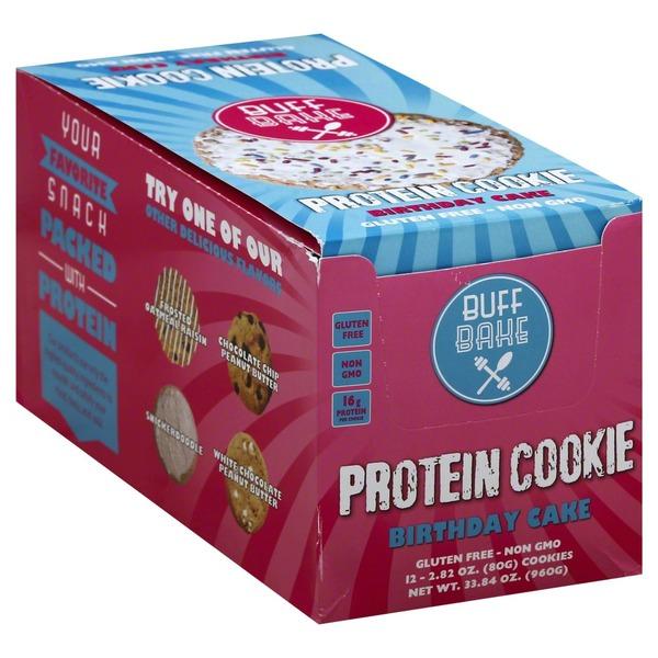 Publix Buff Bake Protein Cookie Birthday Cake