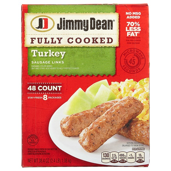 Jimmy Dean Fully Cooked Sausage Links (38 4 oz) from BJ's
