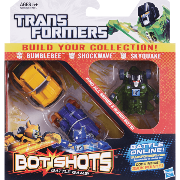 Hasbro Transformers Bot Shots Battle Game (3 ct) from CVS Pharmacy