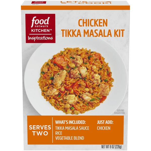 Food Network Kitchen Inspirations Chicken Tikka Masala Meal Kit From