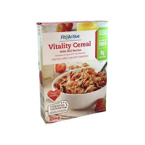 Fit & Active Berry Vitality Cereal (11.2 Oz) From ALDI