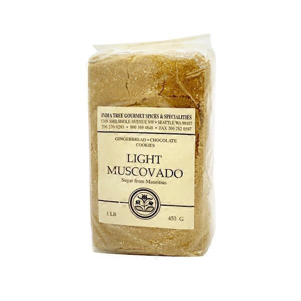 India Tree Gourmet Light Muscovado Sugar