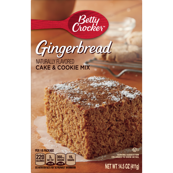 big y world class market betty crocker gingerbread cake and cookie mix