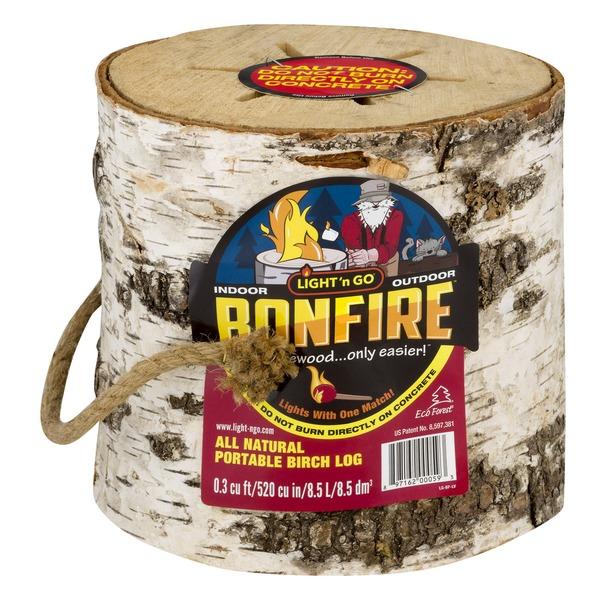 Light U0027n Go Bonfire All Natural Portable Birch Log