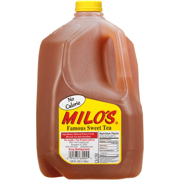 Milo's No Calorie Famous Sweet Tea (gal) from Costco - Instacart