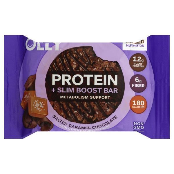Olly Protein Slim Boost Bar Salted Caramel Chocolate 16