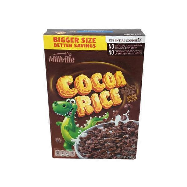 Millville Cocoa Rice Cereal (15 Oz) From ALDI