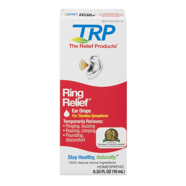 Trp Ring Relief Ear Drops Homeopathic Medicine For Tinnitus