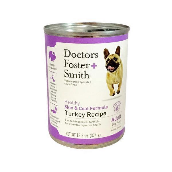 Doctors Foster Smith Healthy Skin Coat Formula Turkey Recipe
