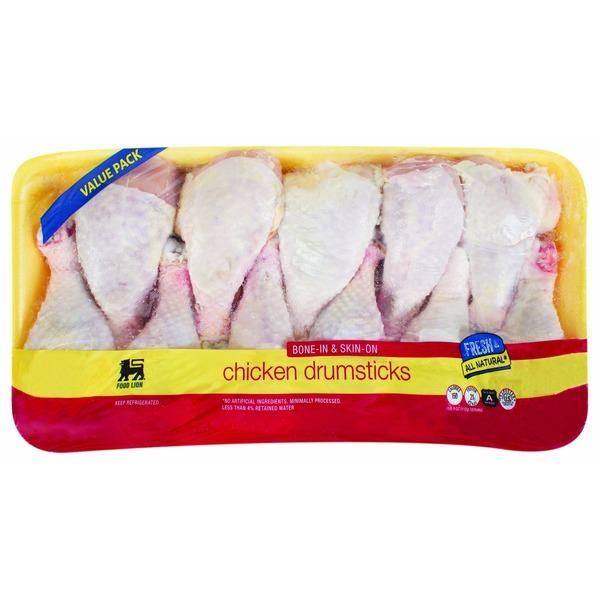 Food Lion Bone In Skin On Chicken Drumsticks Value Pack Per Lb