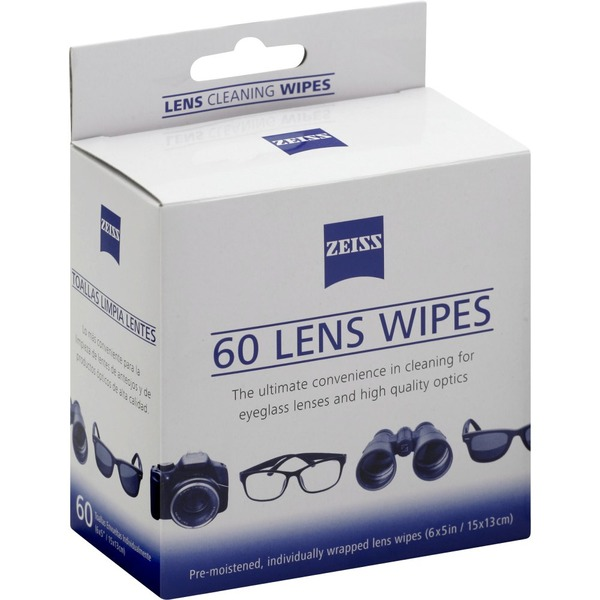 Zeiss Lens Cleaning Wipes (60 each) from Albertsons - Instacart