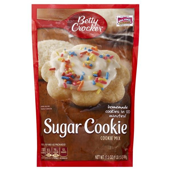 Betty Crocker Sugar Cookie Mix 17 5 Oz From Kroger Instacart