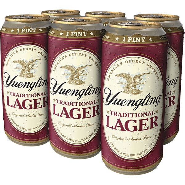 Yuengling Traditional Beer (16 fl oz) from Total Wine & More