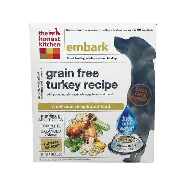 The Honest Kitchen Embark Turkey Recipe Dog Food