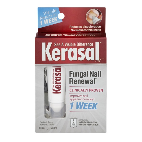 Kerasal Nail Advanced Formula Fungal Nail Renewal Treatment from ...