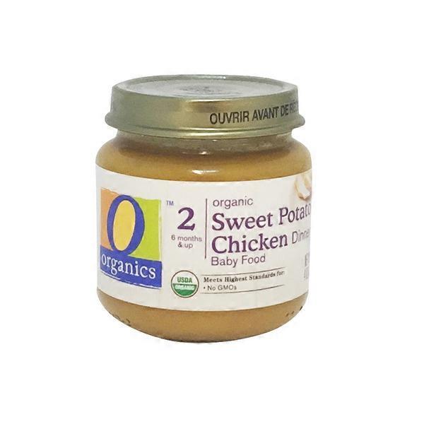 O Organics Organic Sweet Potato Chicken Baby Food Stage 2 6 Mos