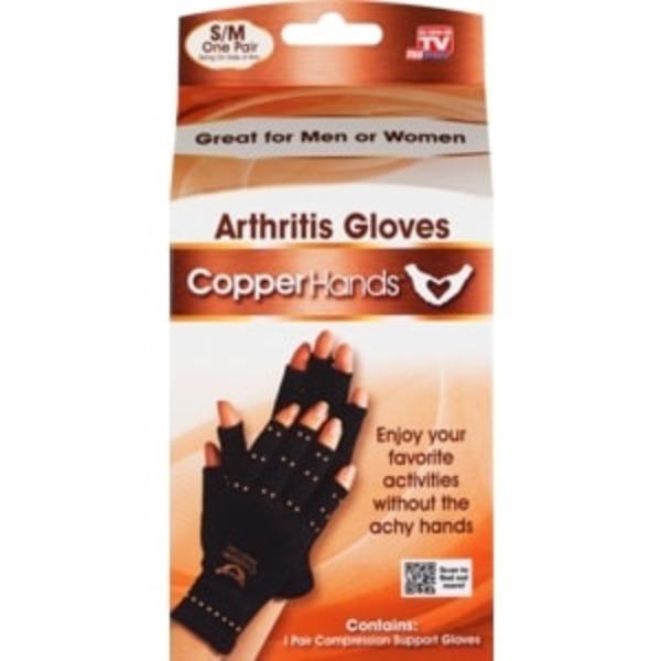 Copper Hands Arthritis Gloves S M Pair From Cvs Pharmacy
