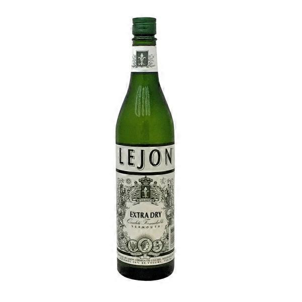 lejon extra dry vermouth 750 ml from bianchini 39 s market. Black Bedroom Furniture Sets. Home Design Ideas