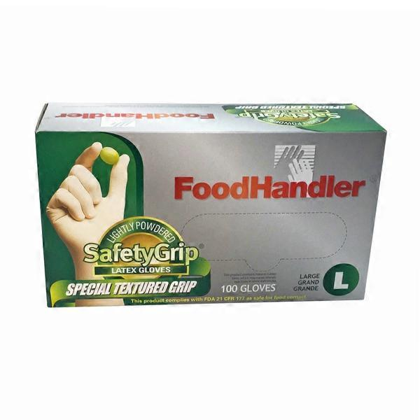 Latex food gloves