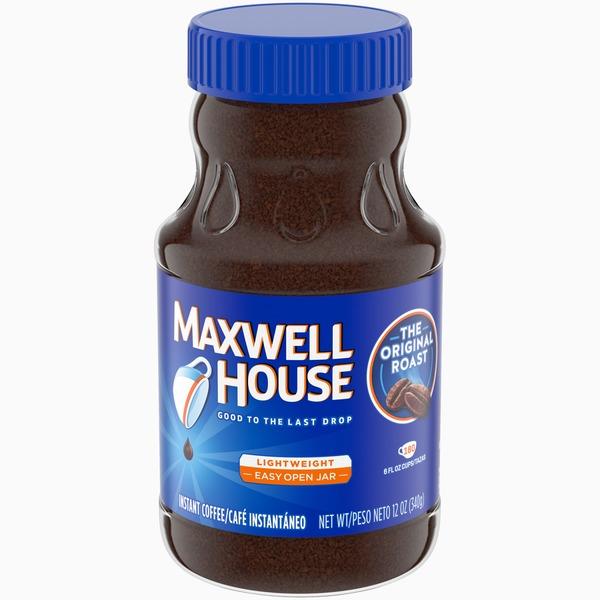 Maxwell House Original Roast Ground Instant Coffee