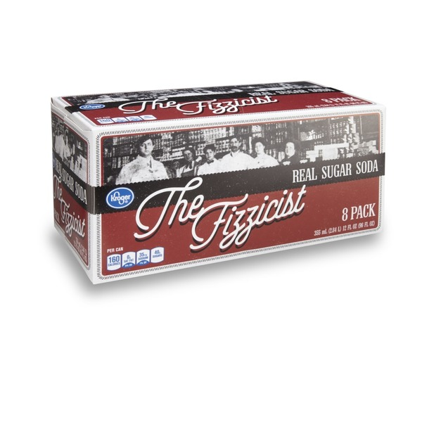 Kroger The Fizzicist Real Sugar Soda (8 ct) from Ralphs