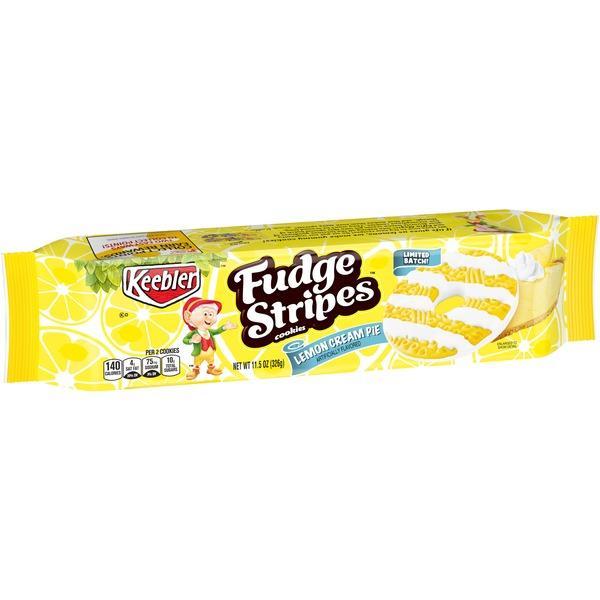 Keebler Fudge Stripes Cookies Lemon Cream Pie