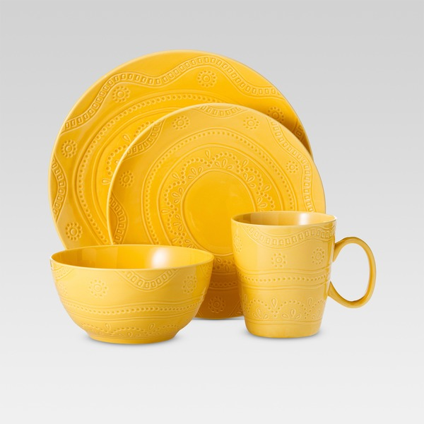 Threshold™ Kennet 16 Piece Dinnerware Set Buttercup  sc 1 st  Instacart & Threshold™ Kennet 16 Piece Dinnerware Set Buttercup (16 each) from ...