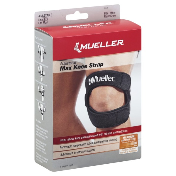 422e884ffe Mueller Knee Strap, Max, Adjustable, One Size Fits Most (1 each ...