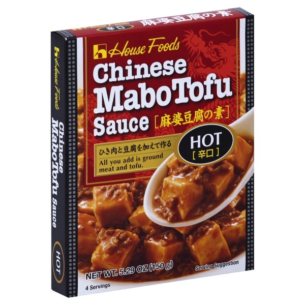 House Foods Sauce, Chinese Mabotufo, Hot