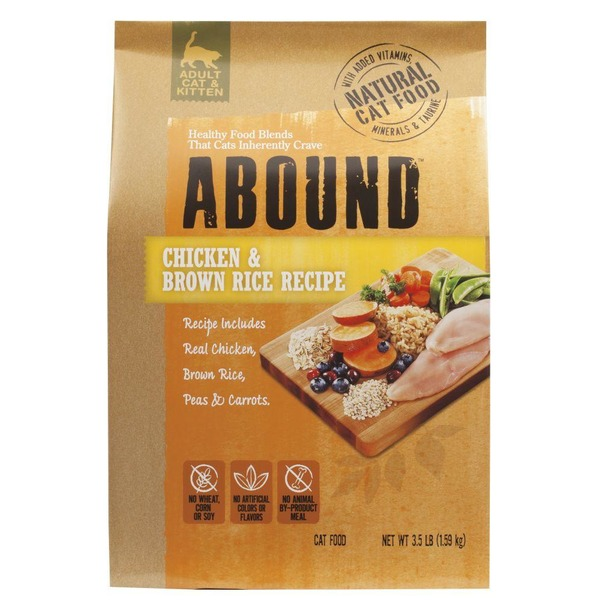 Abound chicken brown rice adult cat food from kroger instacart abound chicken brown rice adult cat food forumfinder Image collections