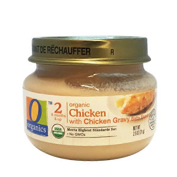 O Organics For Baby Organic Baby Food Stage 2 Chicken With Chicken