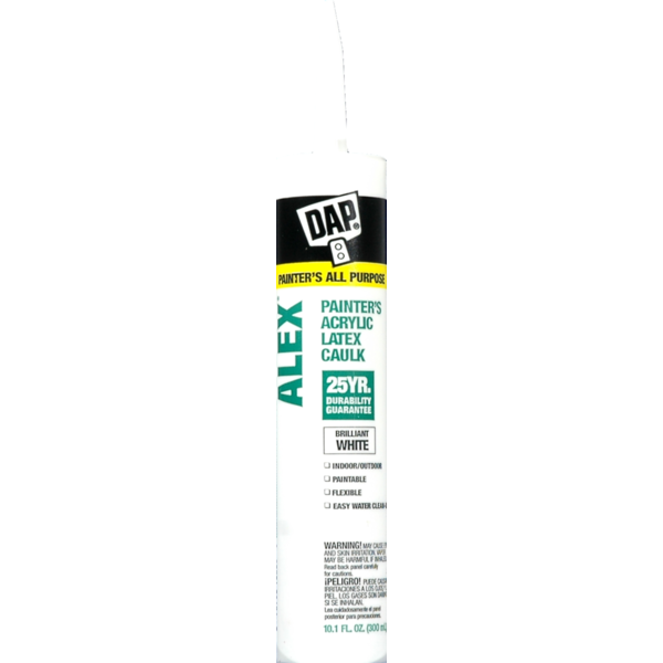 Dap White Painter's Acrylic Latex Caulk (10 1 oz) from Fry's