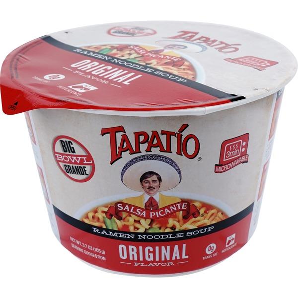 Tapatio Big Bowl Ramen Noodle Soup (3.7 oz) from Safeway - Instacart