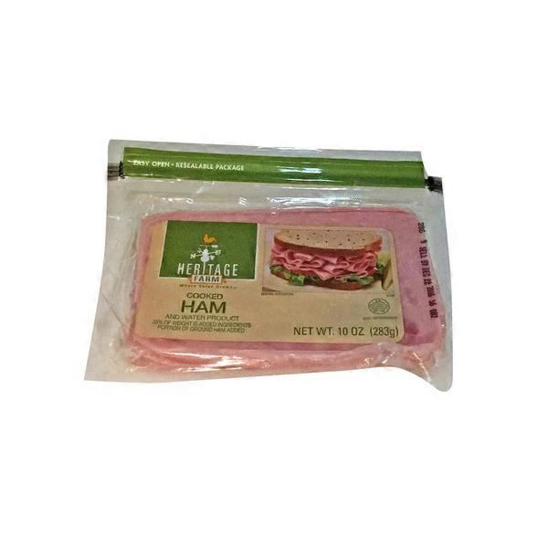 Heritage Farm Cooked Ham 10 Oz From Kroger Instacart