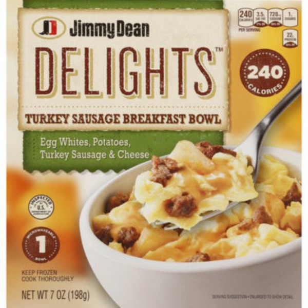 Jimmy Dean Delights Breakfast Bowl Turkey Sausage From Frys Instacart