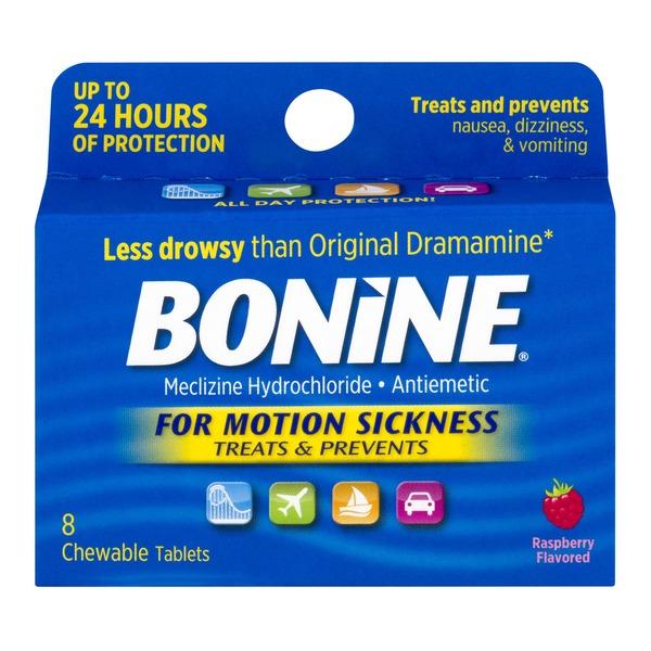 Bonine Meclizine Hydrochloride (8 ct) from Smart & Final