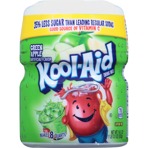 Kool-Aid Drink Mix Green Apple (19 5 oz) from Jewel-Osco
