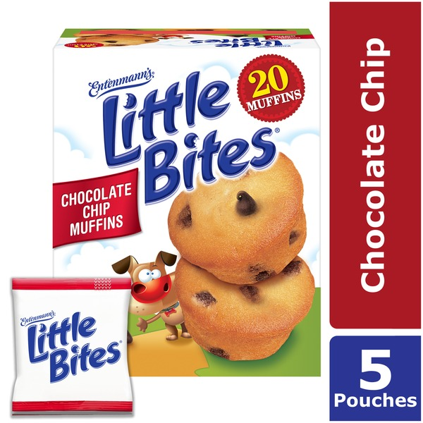 Entenmanns Little Bites Chocolate Chip Mini Muffins Made With Real