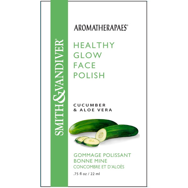 Aromatherapaes - Healthy Glow Face Polish Cucumber & Aloe Vera - 0.75 oz. E-CURE (ALL IN ONE CARE) Intensive Shaping & Moisturizing Mask