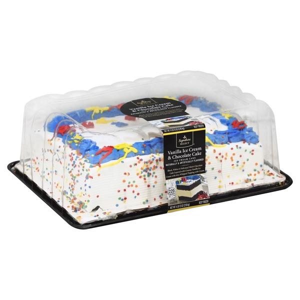 Pleasant Signature Kitchens Ice Cream Cake Vanilla Ice Cream Chocolate Funny Birthday Cards Online Unhofree Goldxyz