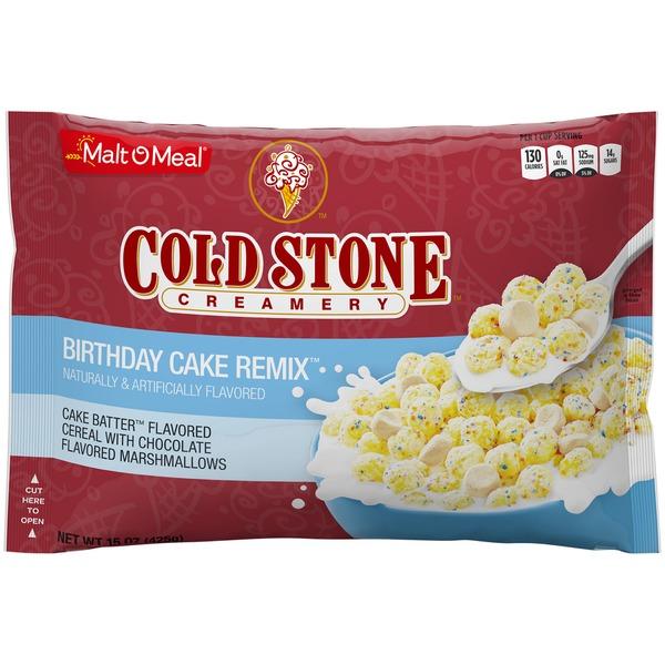Superb Malt O Meal Birthday Cake Remix Malt O Meal Cold Stone Creamery Funny Birthday Cards Online Alyptdamsfinfo