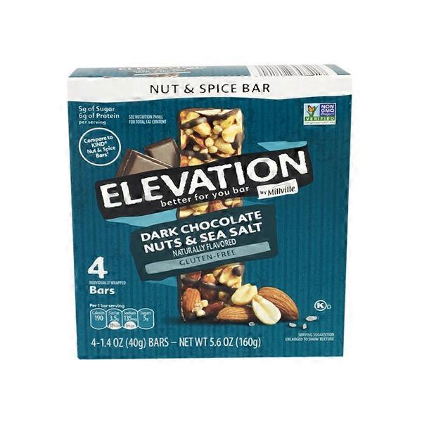 Elevation Chocolate Sea Salt Bar 56 Oz From Aldi Instacart