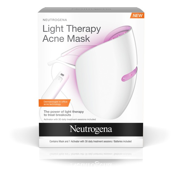 Neutrogena Light Therapy Acne Treatment Mask 1 Ct Instacart