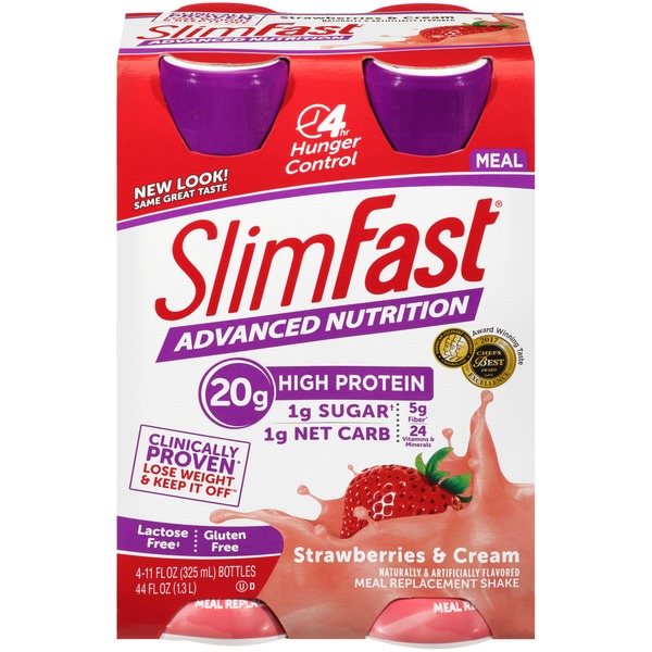 Slimfast Advanced Nutrition Meal Replacement Shake From Kroger