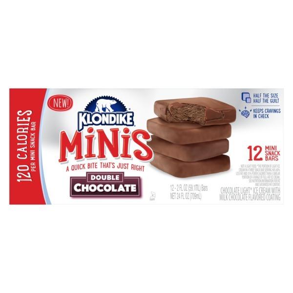 Klondike Ice Cream Bars Double Chocolate Mini 12 Ct From