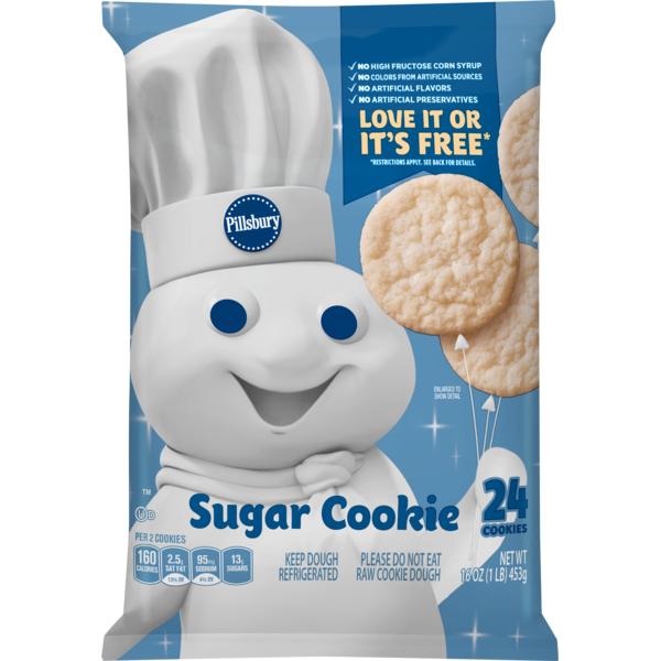 Pillsbury Cookies Sugar 16 Oz From Vons Instacart