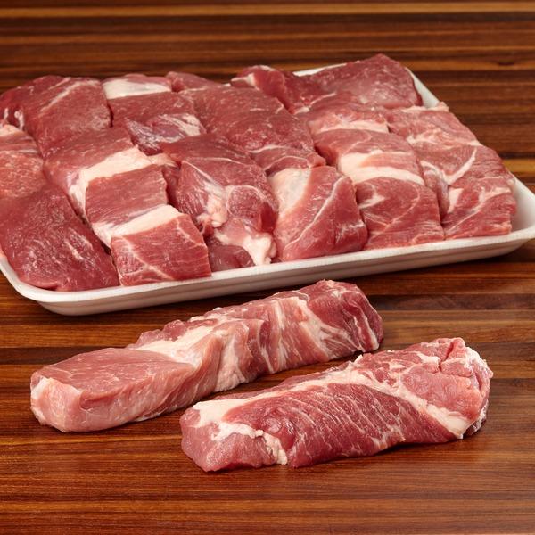 Kirkland Signature Pork Shoulder Country Style Ribs Boneless